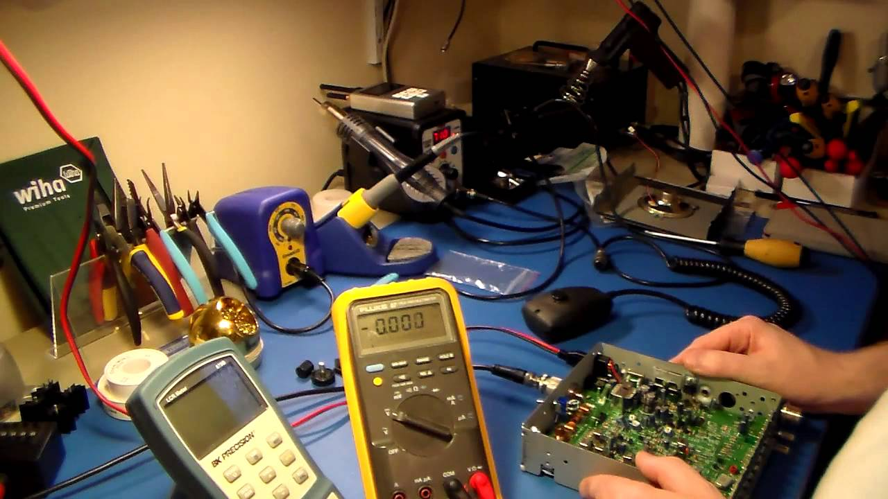 Midland 77 101b Cb Mic Wiring Diagram Free Download Gl1500 285 Repair Youtube At