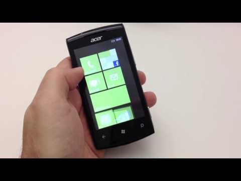 Acer Allegro video hands on