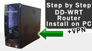 86 PC güvenlik Duvarı, Bilgisayarınızı açın - DD-WRT -