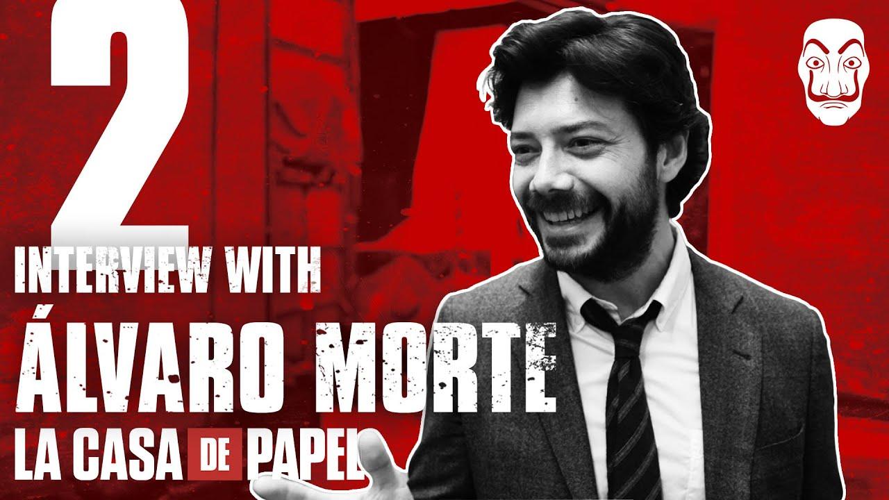 La Casa de Papel | Entrevista con Álvaro Morte #2 | Netflix