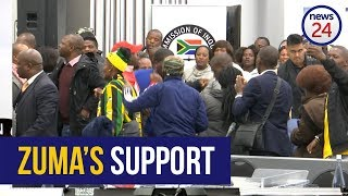 WATCH: 'What has Zuma done?' - Jacob Zuma's supporters sing at state capture inquiry