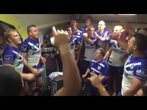 Nrl Bulldogs Team Song vs Manly rd 1