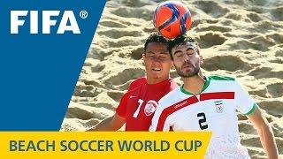 HIGHLIGHTS: Tahiti v. Iran - FIFA Beach Soccer World Cup 2015