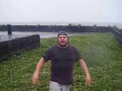 P'MAWS BAIT SHACK  HURRICANE ISAAC MAKES LANDFALL