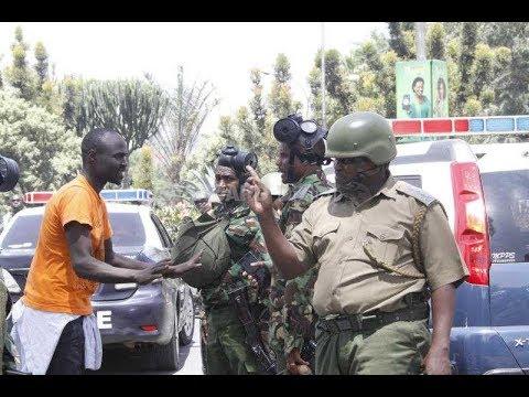 KALONZO HOME RAID: NASA Co-Principal Kalonzo Musyoka speaks after an attack on his home