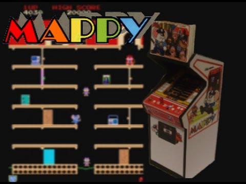 Mappy (Arcade) Gameplay - YouTube