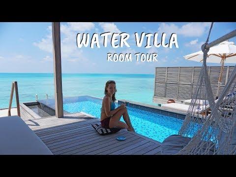 Maldives Water Villa Room Tour