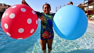 2 Giant Balloon Toy Surprise - Chupa Chups - Shopkins - Minecraft - Mashems - Tsum Tsum Toys