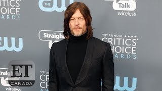 Norman Reedus Talks 'Ride', Time's Up, Oprah 2020 | CRITICS' CHOICE