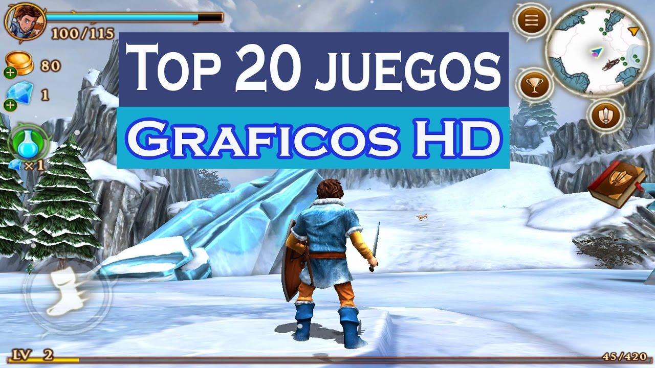 Top 20 Mejores Juegos Con Graficos Hd Gratis 2017 Ultra Realistas