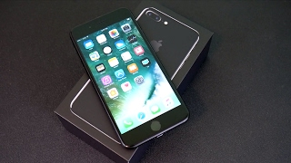 iPhone 7 Plus Unboxing & First Impressions