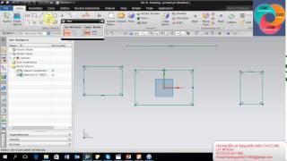 Hướng dẫn sử dụng phần mềm NX Bài 1 _ Tạo Sketch | Training NX 11 Lesson 1 _ Sketcher