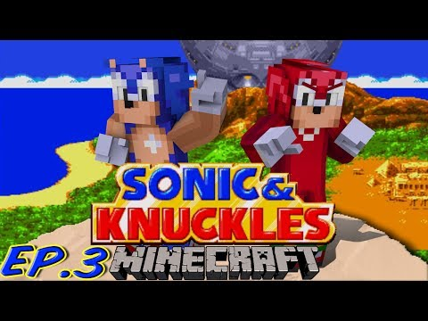 Sonic Craft 4 (Sonic & Knuckles) Part 3 w/ KKcomics and Gizzy Gazza!