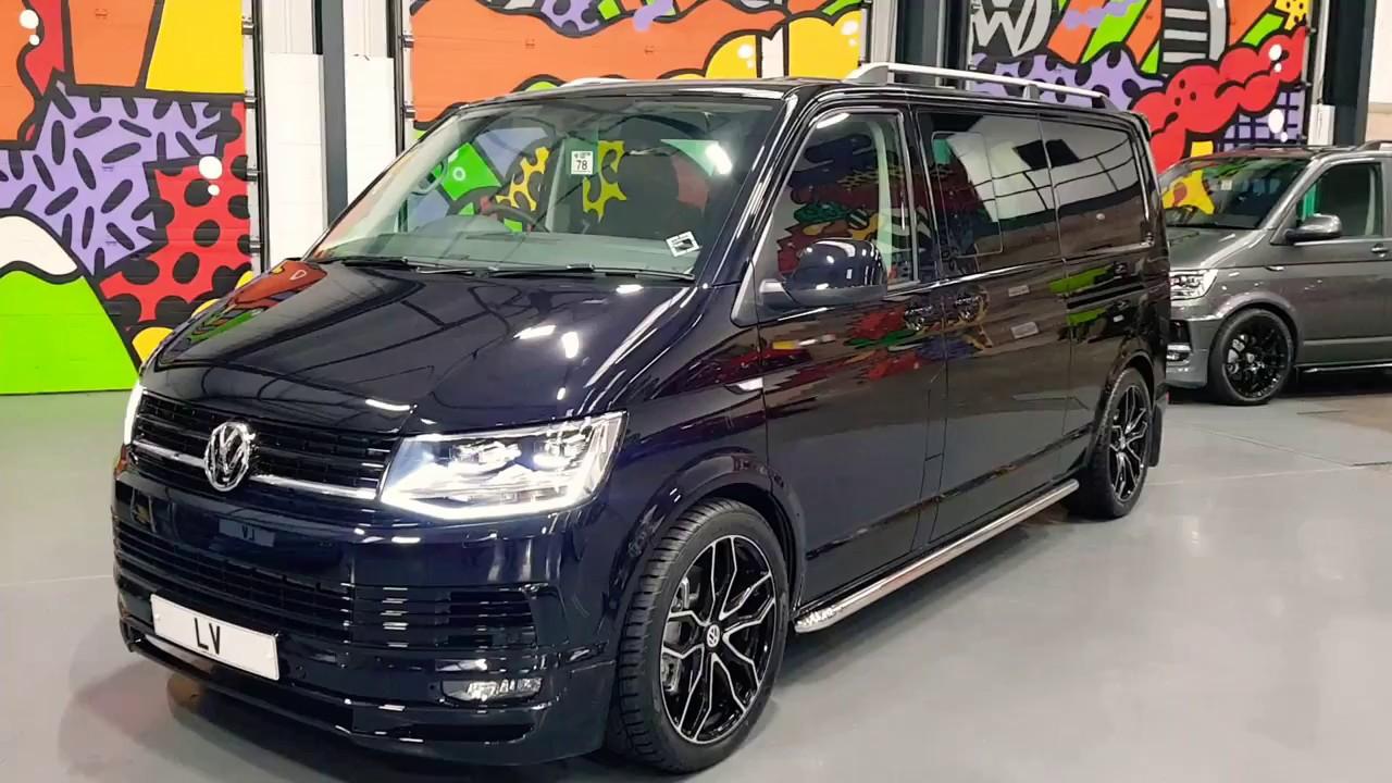 VW T6 67 Black 204ps 4 Motion Lwb Kombi With LV Sportline