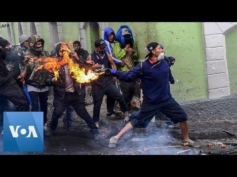 violent-protests-continue-over-fuel-price-hike-in-quito,-ecuador
