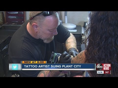 Tattoo Artist Sues Plant City