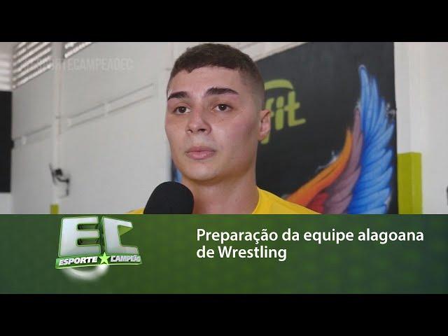 A equipe alagoana de Wrestling está se preparando para várias competições