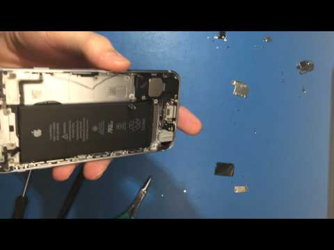 iPhone 6s Water damage treatment