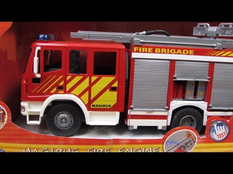 Dickie Toys - International Iveco Fire Engine
