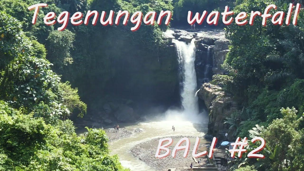 Air Terjun Tegenungan Bali Indonesia #7 - YouTube
