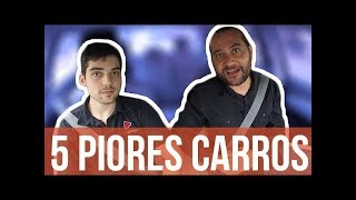 🚘 5 PIORES carros 0km para trabalhar na UBER (feat. Leozítor Canal Top Speed)