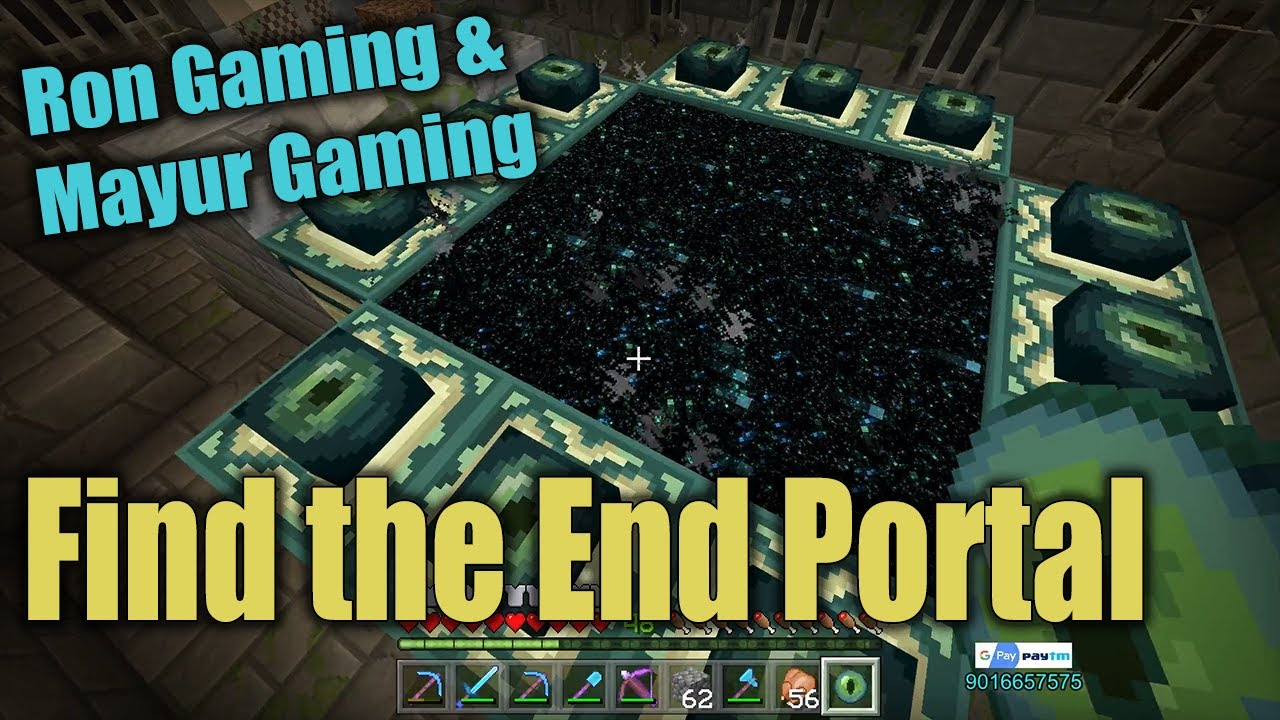 Minecraft | Find End Portal and Tricked Ron | Ron Gaming Live Stream Minecraft on Nonolive!