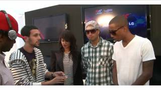 vuclip Dynamo freaks out Pharrell!