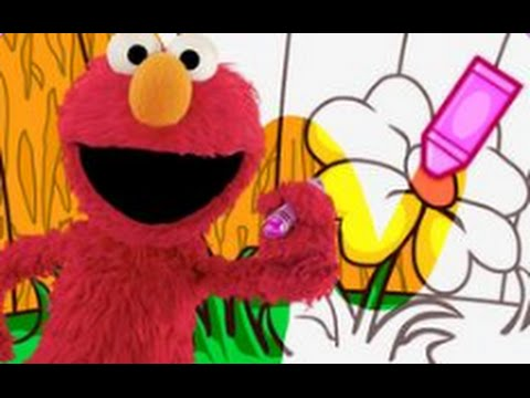 Sesame Street Coloring Book - Gameplay | games for children | Games ...