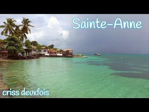 Martinique ; Sainte-Anne ; Bourg ; Caraïbes ; Les Antilles ; Les Salines ; Plage ;  972 ; France