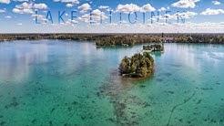 Lake Littoinen Aerial - Littoistenjärvi ilmasta käsin