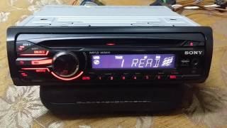 SONY CDX-GT250MP AUX 4x45w