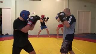 Фёдор Емельяненко - Кирилл training 2010г