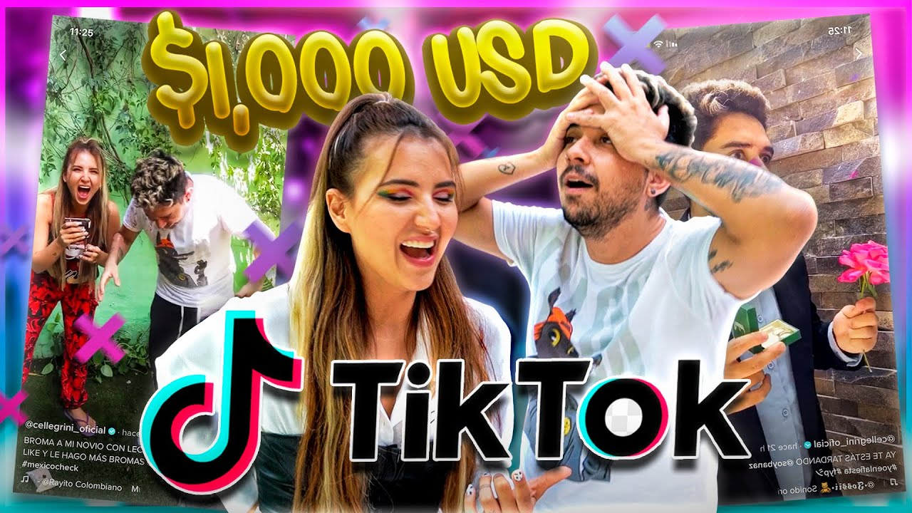 QUIEN HAGA EL TIKTOK MÁS VIRAL GANA 1000 DOLARES