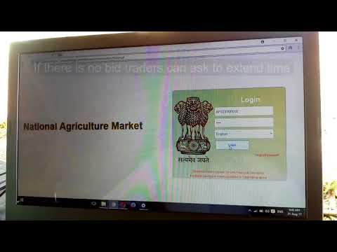 Enam Process in AMC Denduluru lakshmipuram Marketyard