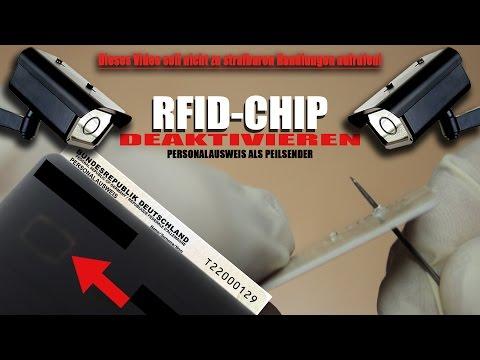 RFID-CHIP IM PERSONALAUSWEIS DEAKTIVIEREN [HD+|DE]
