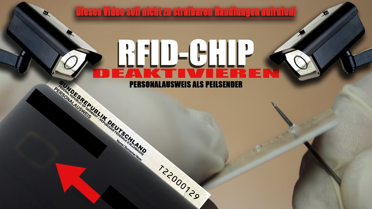 Rfid Chip Personalausweis Deaktivieren