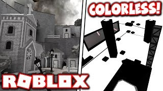 THESE FLOOD ESCAPE 2 MAPS HAVE *NO* COLOR?! (Roblox)