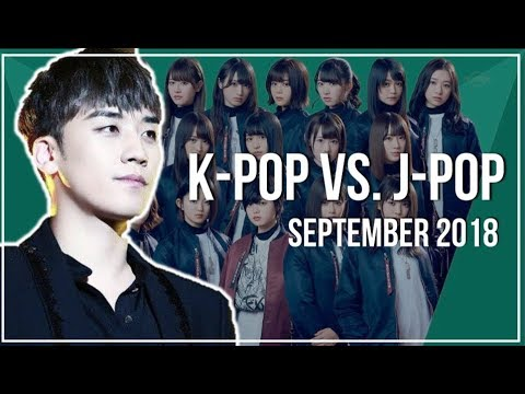 K-Pop vs J-Pop | September 2018