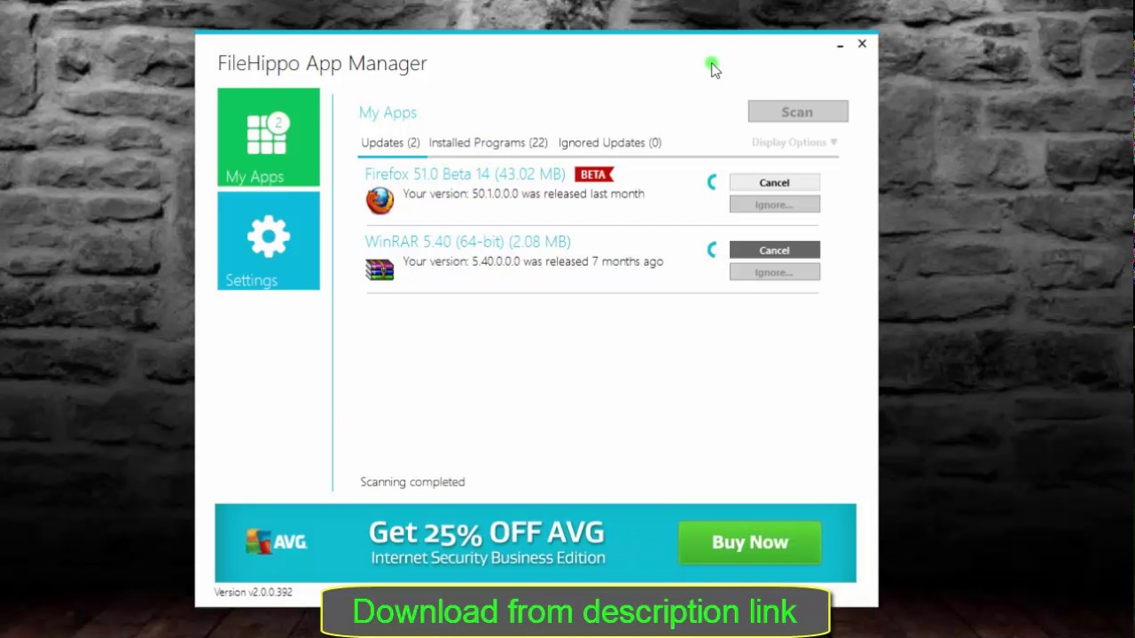 Filehippo app manager 20 beta 4 youtube filehippo app manager 20 beta 4 stopboris Images