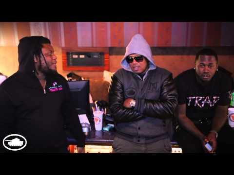 "Studio Session: Master P, Fat Trel & Alley Boy Remake Master P's ""Break Em Off Something"" Record"
