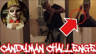 CANDYMAN CHALLENGE! DEMON TRIED TO KILL ME!!!