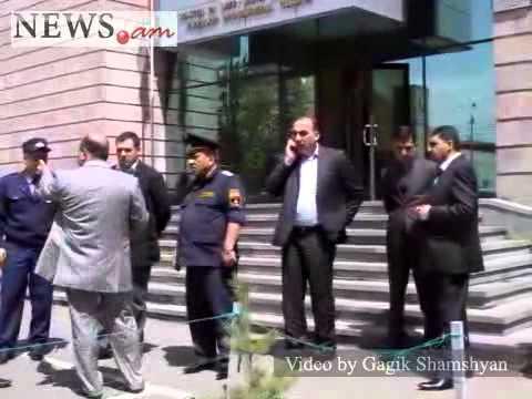 Bomb Threat At Armenia's Court