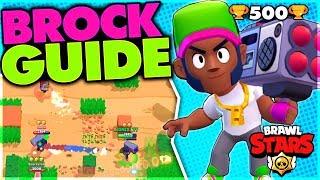 How to Play Brock - Advanced Brock Guide [Brawl Stars]