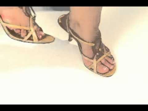 Foot Petals: Strappy Strips Tutorial
