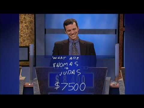 JEOPARDY! 25th Anniversery Spotlight- Ken Jennings becomes 74-Day Champion [720p HD]
