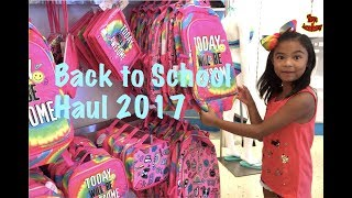 Back to School Supplies Haul Justice & Target 2017 | Toys Academy