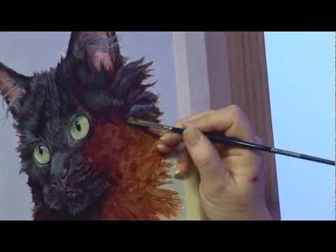 Painting Fur Textures with Julie Nash
