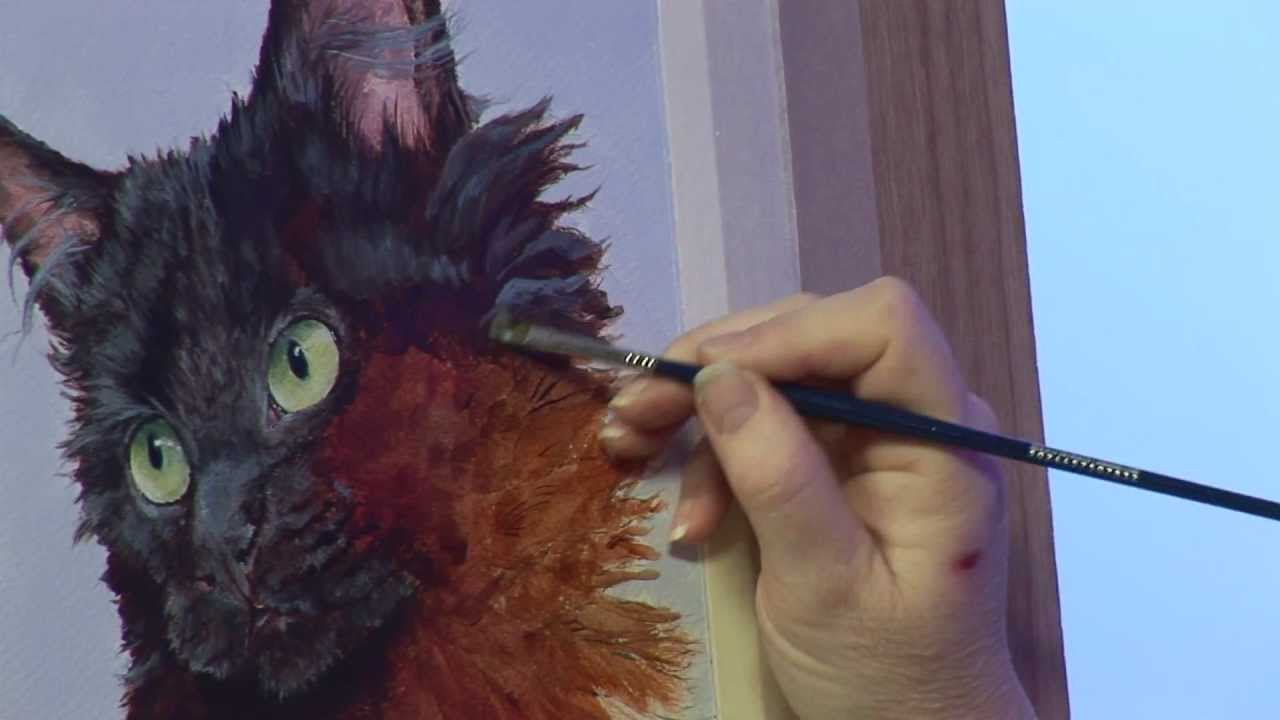 painting fur textures with julie nash youtube
