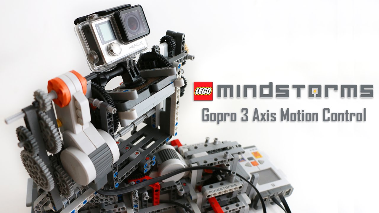 Camera Lego Nxt : Lego mindstorms gopro axis motion control youtube