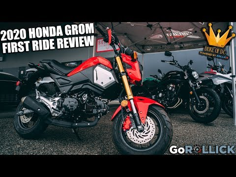 2020 HONDA GROM FIRST RIDE REVIEW [worth the upgrade?]